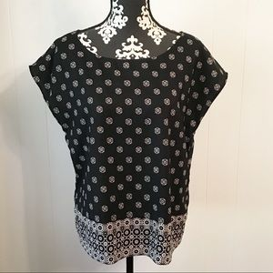Vince Camuto Pullover Blouse Size Medium